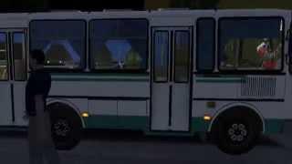 Omsi .Обзор автобуса ПАЗ 32054