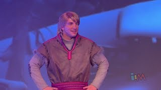 Kristoff Talks In Frozen Summer Fun Live Stage Show At
