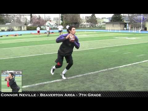 2012 NEI Medford Combine – QB Highlights