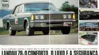 old cars manufactured in Brazil CARROS ANTIGOS NACIONAIS TESTE DA REVISTA 4 RODAS view on youtube.com tube online.