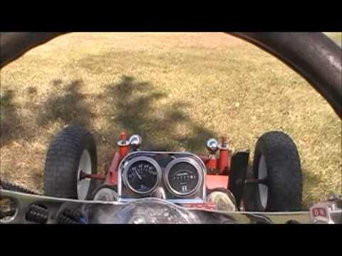 Homemade 10 HP Diesel Go-Kart!!