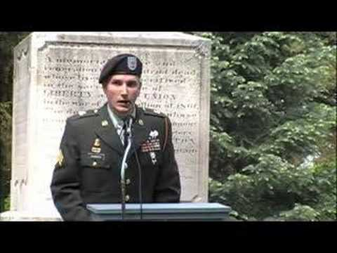 Best Memorial Day Speech Ever!!!!