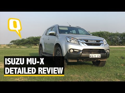 Isuzu MU-X Off-Road and On-Road Review - The Quint