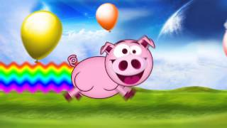 Nyan Cat Pardon PIG (2012) Cute Animals For Kids