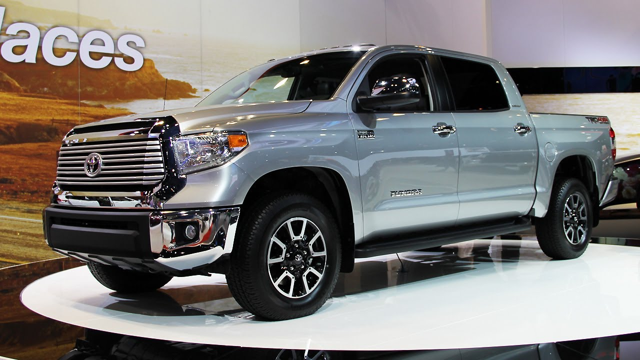 2014 toyota tundra new pickup trucks youtube. Black Bedroom Furniture Sets. Home Design Ideas