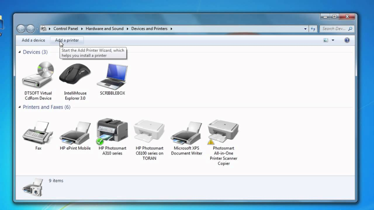 m225dw how to set up network printer