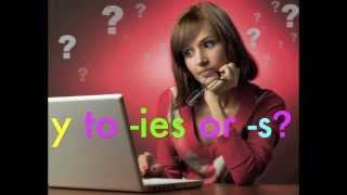 How To Spell: Y Toies Ors Plural Spelling Rule