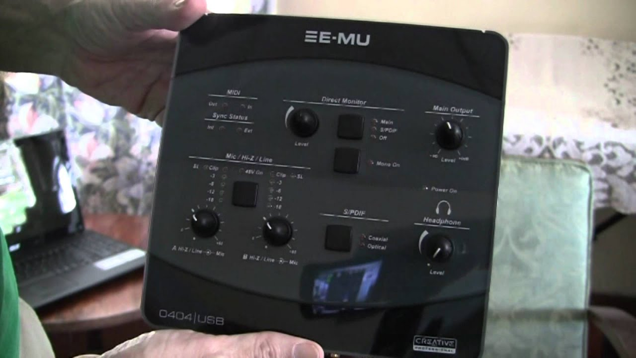 E-MU 0202 USB 2.0 Free Driver Download (Official)