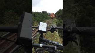 Bikers Rio Pardo | Vídeos | Depois de susto com trem, ciclistas alertam para riscos desnecessários