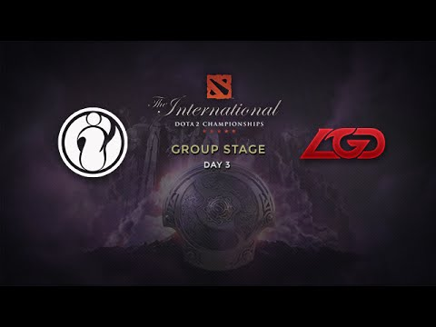 LGD -vs- iG, The International 4, Group Stage, Day 3