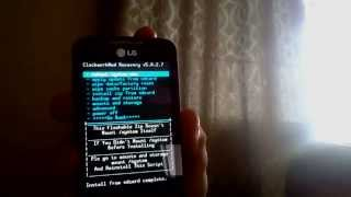 Actualizar Android KitKat 4.4 LG Optimus Hub (E510 Y E510f