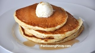Buttermilk Pancakes – Panlasang Pinoy