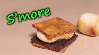 'Realistic' Polymer Clay S'more Tutorial