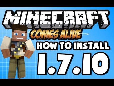 Minecraft Comes Alive Mod Installer