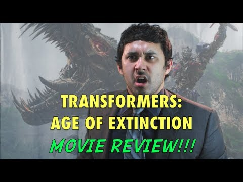 TRANSFORMERS: AGE OF EXTINCTION MOVIE REVIEW!!!