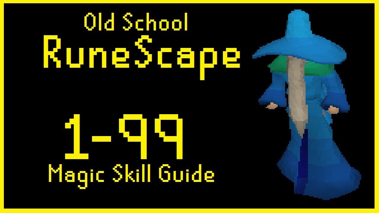 Old school runescape 1 99 magic skill guide youtube for Runescape exp table 1 99