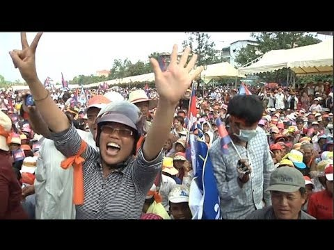 Tens of Thousands Protest Election Fraud in Cambodia