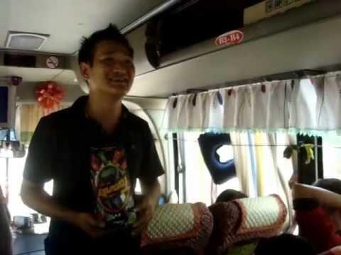 Trò Chơi trên xe đi Gia Lai - Quy Nhơn tháng 6/2012