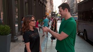 Billy on the Street: La Tina Fey