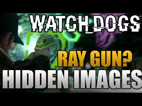 Watch Dogs - Ray Gun, Hidden Images, Minigames, Focus Mode (Watch_Dogs Gameplay)