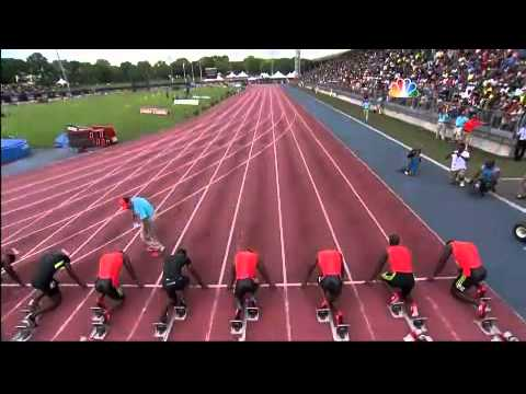 Yohan Blake 9.90 Wins 100m - Diamond League New York Adidas Grand Prix