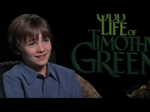 'The Odd Life of Timothy Green' CJ Adams Interview