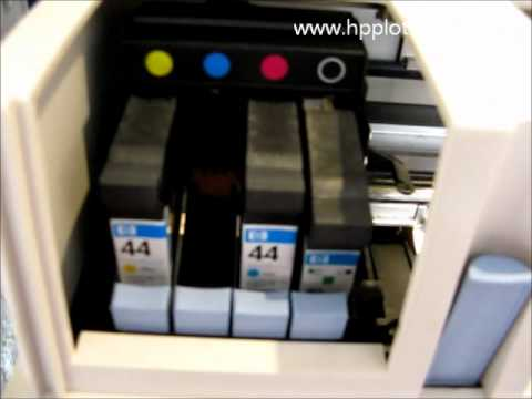 Designjet 430/450/488 Series - Cartridge error on your printer
