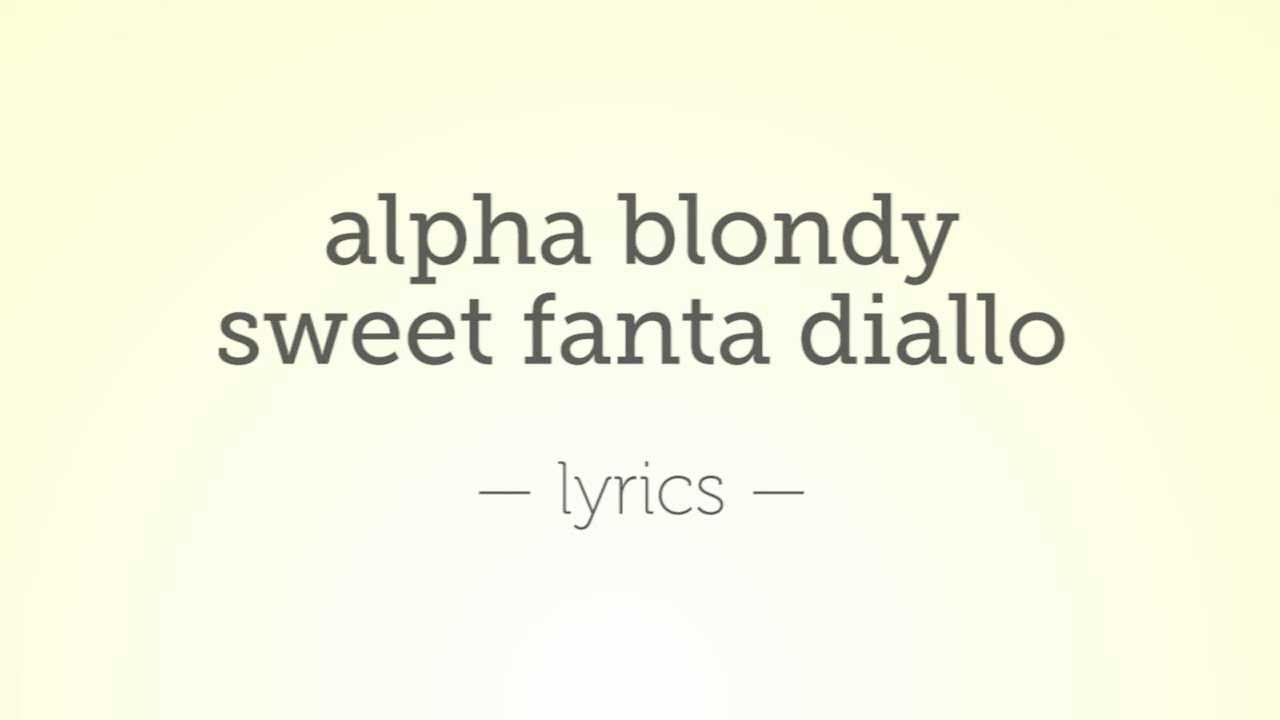 Alpha Blondy - Jerusalem Lyrics | MetroLyrics