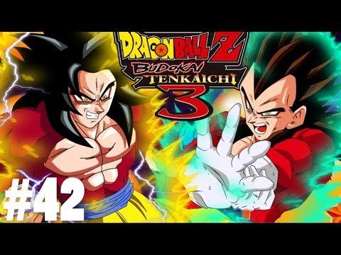 Dragon Ball Budokai Tenkaichi 3 - Tập 42 - Goku SSJ4 Đại Chiến Vegeta SSJ 4 | Big Bang