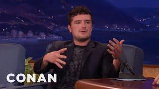 Josh Hutcherson On The Haze That Surrounds Seth Rogen  - CONAN on TBS