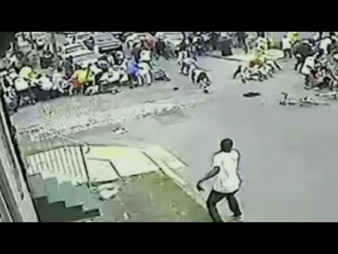 New video shows parade shooting suspect
