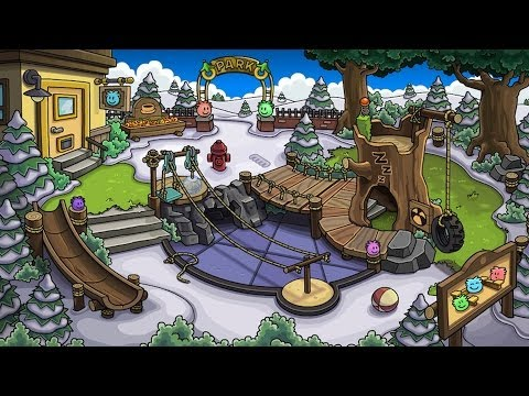 Club Penguin: New Puffle Park Room