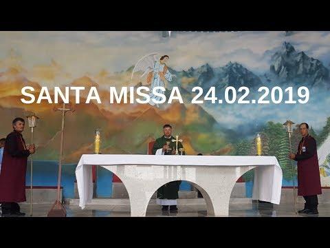 Santa Missa | 24.02.2019 | Padre Paulo Sérgio Mendes | ANSPAZ