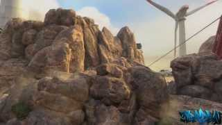 Black Ops 2 Glitches: Rock Wallbreach on Turbine - Fully inside Rock - Easiest Glitch
