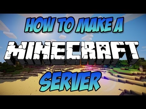 How To Make A Minecraft Server: 1.8.1 [DIRECT CONNECT] [TUTORIAL]