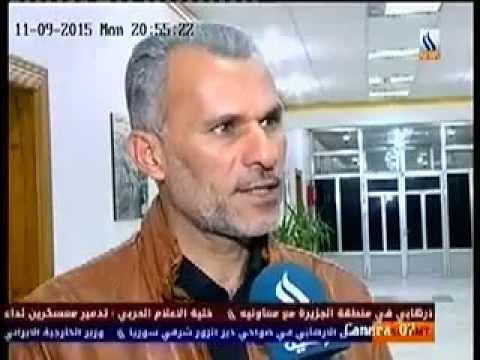 تقرير قناة العراقية  عن  الفيضانات في محافظة واسط