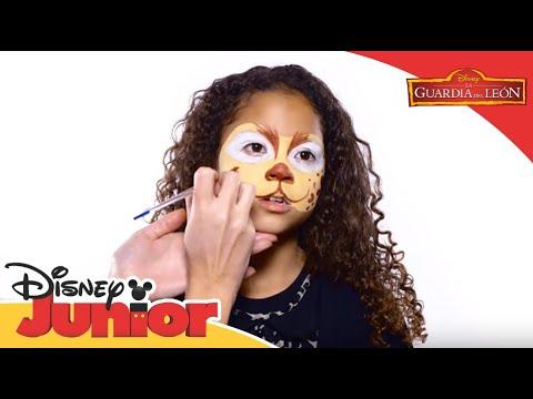 Disney Junior España | Tutorial - Pintacaras: Fuli