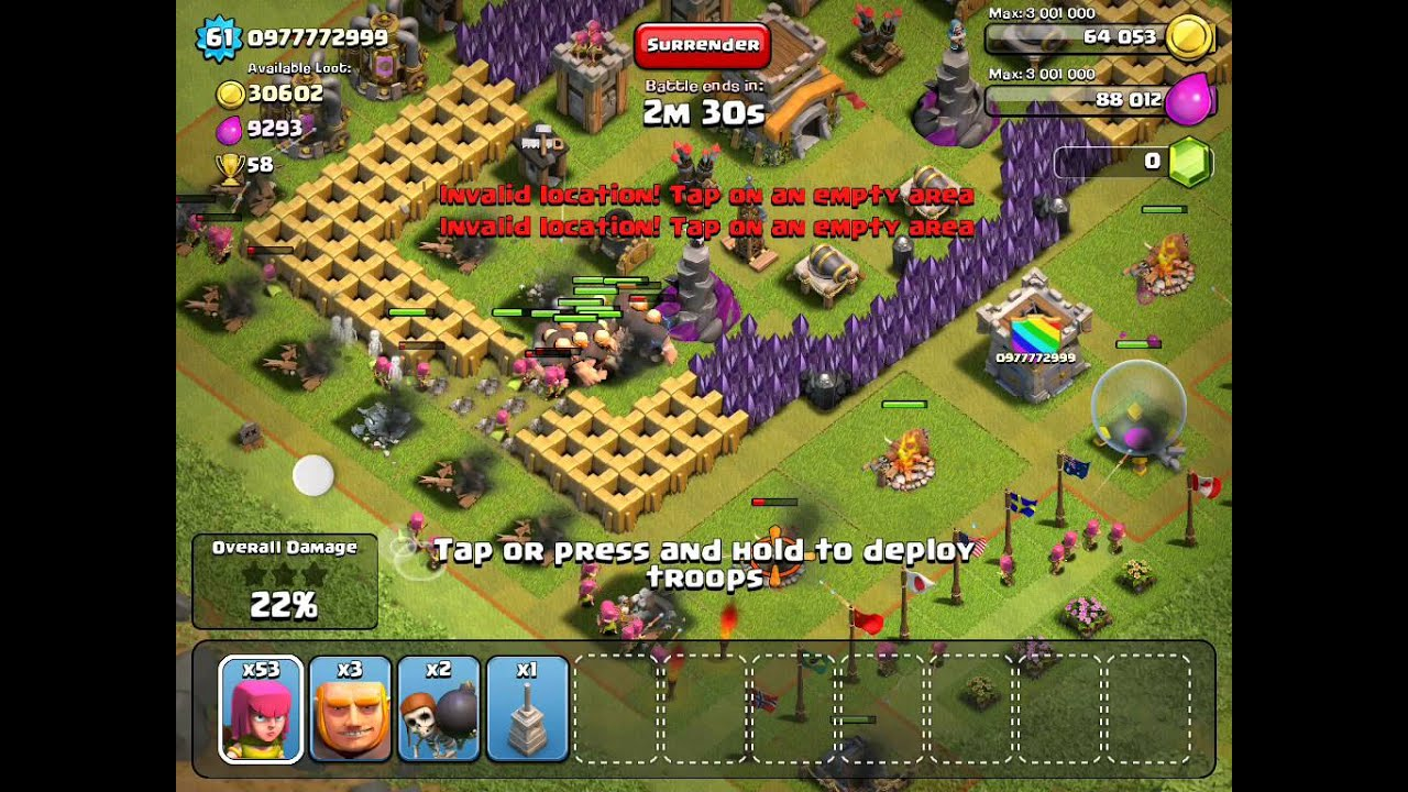 Clash of Clans da be