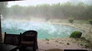 Hail Storm in Phoenix, Az ~ October 5. 2010