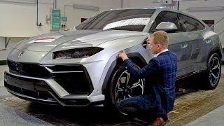 Lamborghini Urus (2018) HOW IT'S DESIGNED. YouCar Car Reviews.