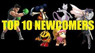 Top 10 New Characters Super Smash Bros. 4 3DS & Wii U