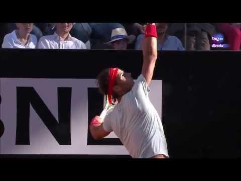 Nadal-Federer Highlights Rome 2013 Internazionali BNL D'Italia