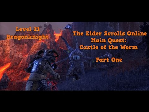 The Elder Scrolls Online: Castle of the Worm Level 21 Dragonknight - Max Settings 1440p HD - Part 1