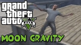 GTA V: MOON GRAVITY CHEAT!!