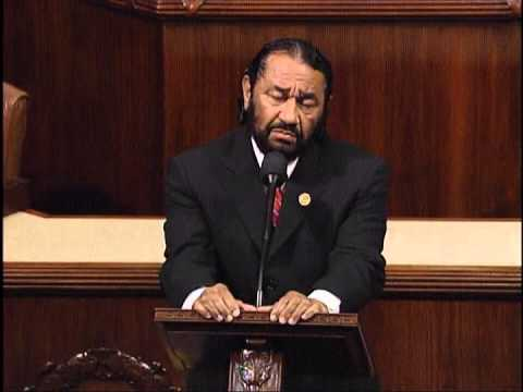 Rep. Al Green Speaks About the Legacy of Late Former Congressman Major Owens