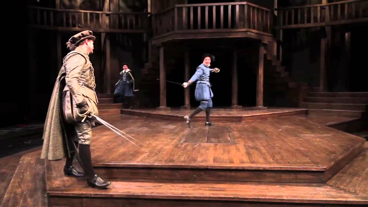 romeo and juliet tybalt and mercutio fight stratford