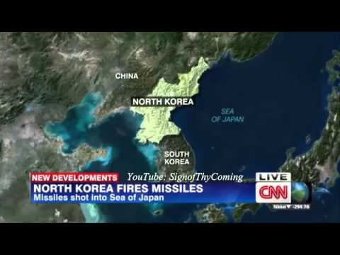 World War 3 : North Korea fires 2 Short Range Ballistic Missile warning shots (Mar 03, 2014)
