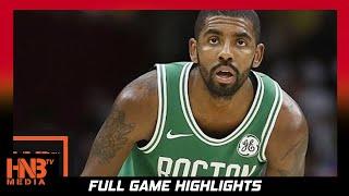 Boston Celtics vs Oklahoma City Thunder Full Game Highlights / Week 3 / 2017 NBA Season