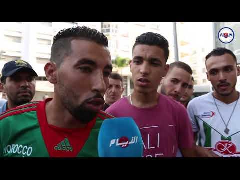 ادعاء بأن بوليسي يبيع تذاكر مباراة المغرب والغابون بثمن مضاعف