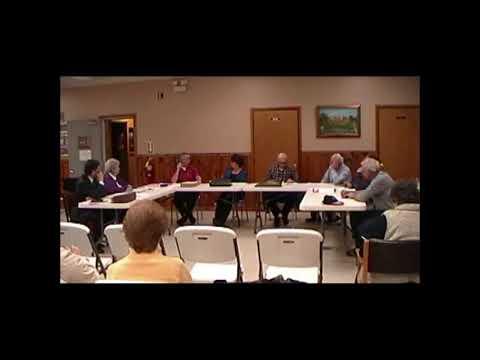 Altona Town Board Meeting 12-10-12